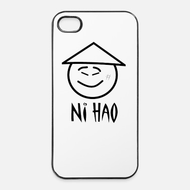 Ciao ni hao - Custodia rigida per iPhone 4/4s