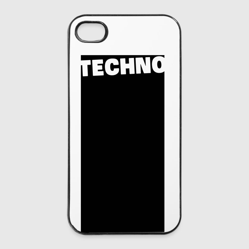 Techno - iPhone 4/4s Hard Case