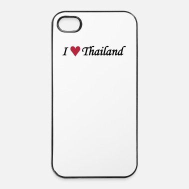 Thaïlande I love Thailand / I heart Thailand - Coque rigide iPhone 4/4s