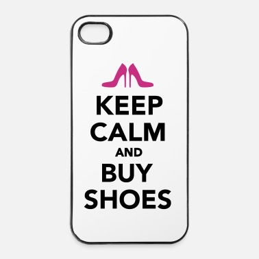 Highheels Keep calm and buy shoes - iPhone 4 & 4s Hülle