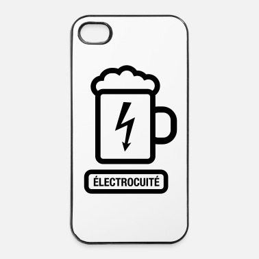 Whisky ELECTROCUITE - logo - comiqu - Coque rigide iPhone 4/4s