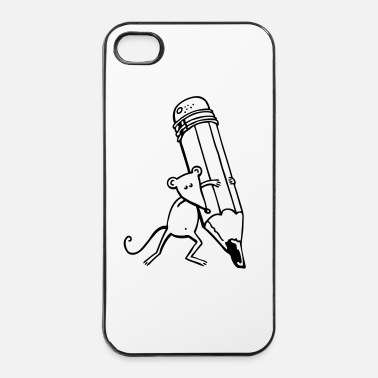 Pen Muis - iPhone 4/4s hard case