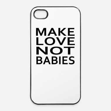 Embarazo make love not babies - Carcasa iPhone 4/4s