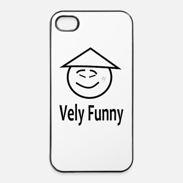 Aziatisch vely funny - iPhone 4/4s hard case