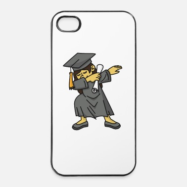 Kindergarten Asian girl student dab dabbing graduation school - iPhone 4 & 4s Case