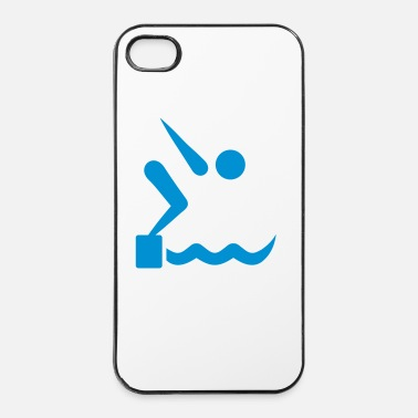 Schwimmer Schwimmen - iPhone 4/4s Hard Case