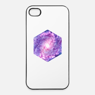Symbole Galaxy - espace - symbole univers / hipster - Coque rigide iPhone 4/4s