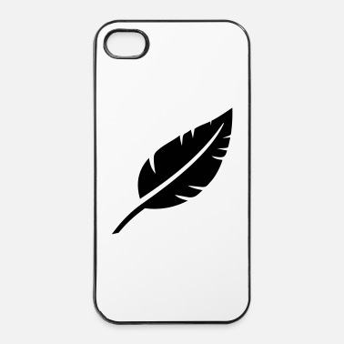 Canard Plume  - Coque rigide iPhone 4/4s