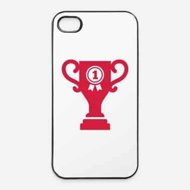 Pallamano Trofeo coppa - Custodia rigida per iPhone 4/4s