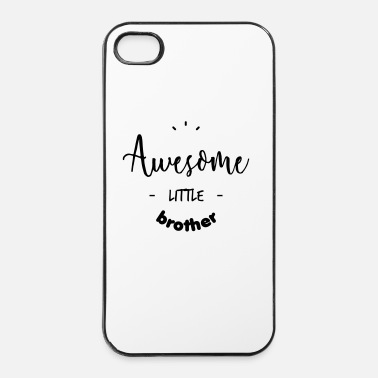 Fantastico Awesome little Brother - Custodia rigida per iPhone 4/4s