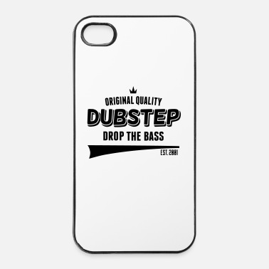 Basser Original Dubstep - Drop The Bass - Hårt iPhone 4/4s-skal