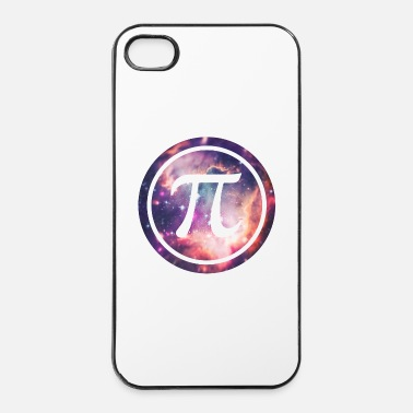 Geek PI - Universum / Space / Galaxy  Nerd & Geek Style - Hårt iPhone 4/4s-skal