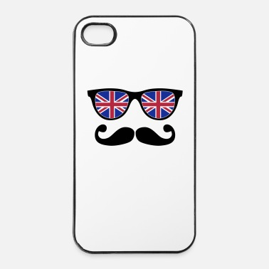 Sir english mustache glasses nerd - like a sir - iPhone 4 & 4s Case