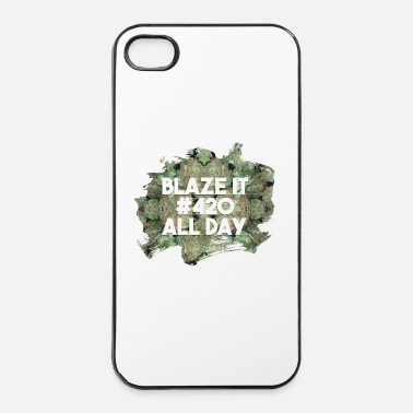 Lyft Blaze it 420 all day - Hårt iPhone 4/4s-skal