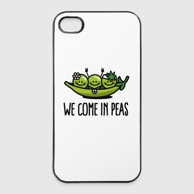 We come in peas / peace - Carcasa iPhone 4/4s
