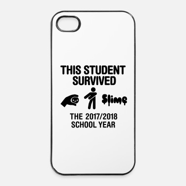 Niños This student survived the 2017 / 2018 school year - Carcasa iPhone 4/4s
