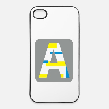 Name Letter A - iPhone 4 & 4s Case