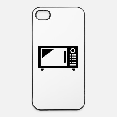 Pizza Microonde - Custodia rigida per iPhone 4/4s
