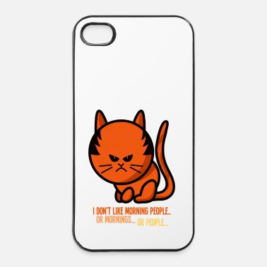 Persoon Not a morning person / I don't like morning people - iPhone 4/4s hard case