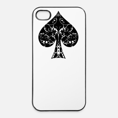 Pik Pik Tribal Poker Ass Hold´em  - iPhone 4 & 4s Hülle