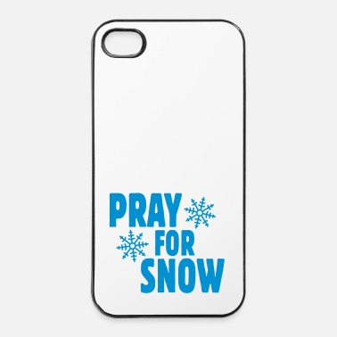 Snowboard pray for snow ii - iPhone 4/4s hard case