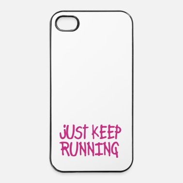 Correr just keep running - Carcasa iPhone 4/4s
