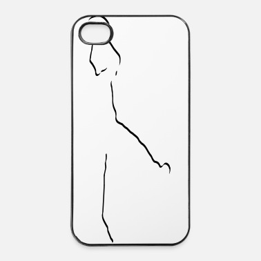 Balsport basketballer_cool_stylisch_1_farbig - iPhone 4/4s hard case