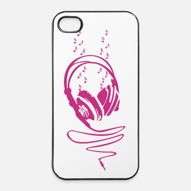 Electro Let The Music Play - iPhone 4/4s hard case