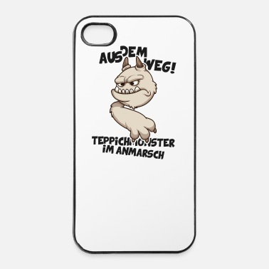 Tapijt Uit de weg! Tapijt komen Monster - iPhone 4/4s hard case