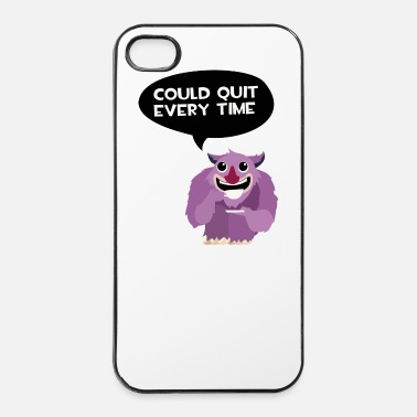 Monstre Café junkie Monster - Coque rigide iPhone 4/4s