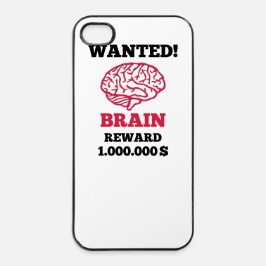Dollaro Cervello - wanted - Custodia rigida per iPhone 4/4s