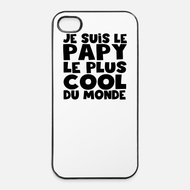 Plus je suis le papy le plus cOOL - Coque rigide iPhone 4/4s