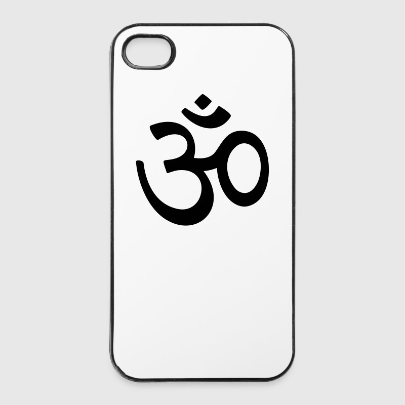 OM Zeichen Buddha Buddhismus AUM   - iPhone 4/4s Hard Case