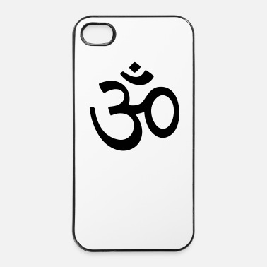 Icon OM mantra meditatie  Boeddhisme Hindoeïsme  - iPhone 4/4s hard case