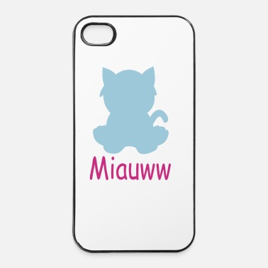 Ombre miauww - Coque rigide iPhone 4/4s
