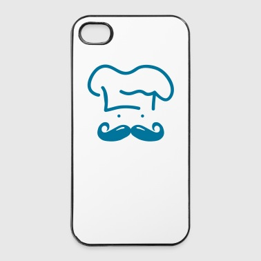 moustache chef ii - Carcasa iPhone 4/4s