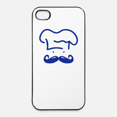 Restaurant moustache chef ii - iPhone 4/4s hard case