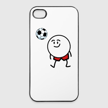 soccer funny - iPhone 4/4s hard case