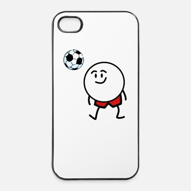 Soccer soccer funny - Coque rigide iPhone 4/4s