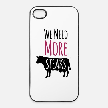 Viande Steak - Coque rigide iPhone 4/4s