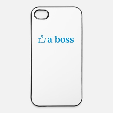 Like A Boss like a boss - Coque rigide iPhone 4/4s