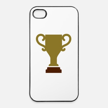 Pallamano Tazza del trofeo - Custodia rigida per iPhone 4/4s