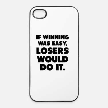 Muscle If Winning Was Easy - Coque rigide iPhone 4/4s