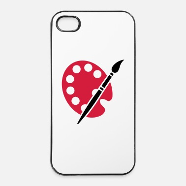 Peintre Artiste - Coque rigide iPhone 4/4s