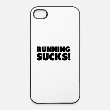 Muscle Running Sucks - Coque rigide iPhone 4/4s