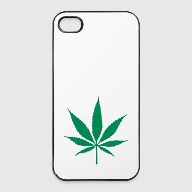 weed leaf - Coque rigide iPhone 4/4s