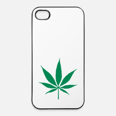 Trance weed leaf - Coque rigide iPhone 4/4s