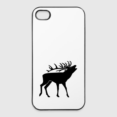 cerf ramure bois corne cornes animal sauvage chass - Coque rigide iPhone 4/4s