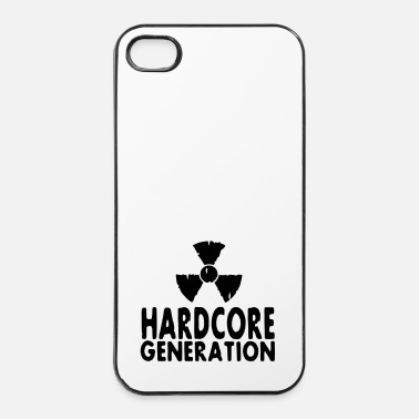 Radioactif harcore generation radioactive - Coque rigide iPhone 4/4s