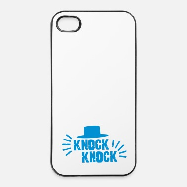 Surprise Knock Knock with hat - Coque rigide iPhone 4/4s